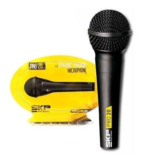 Microfono Mano Con Cable Canon Plug Skp Pro20