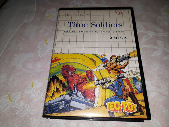 Time Soldiers Completo Original Master System