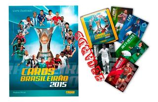 Coleção 360 Cards Brasileiro 2015 + Checklist + Pasta