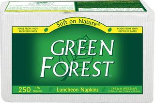 Servilletas Green Forest Blancas 12/250 Unidades Total: 3000