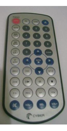 Controle Remoto Dvd Cyber 001 Ou Dt-0531 - Original