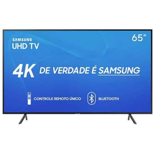 Smarttv Samsung 4k 2019 Ru7100 65 Un65ru7100gxzd