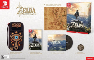 Legend Of Zelda:breath Of The Wild Special Ed Nsw Envio Grat