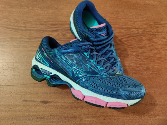 Tênis Mizuno Wave Creation 19 Fem 35 Semi-novo