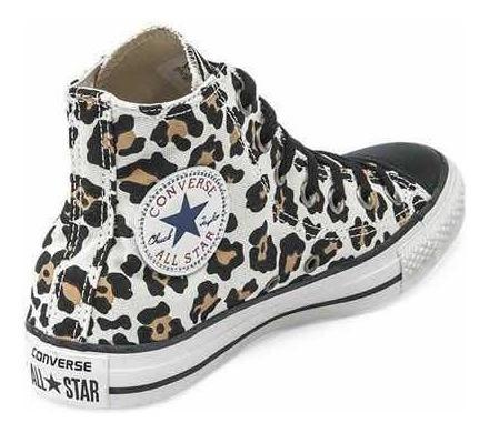 Converse Hi Animal Leopard Cheetah Prin 146109b Últimas!