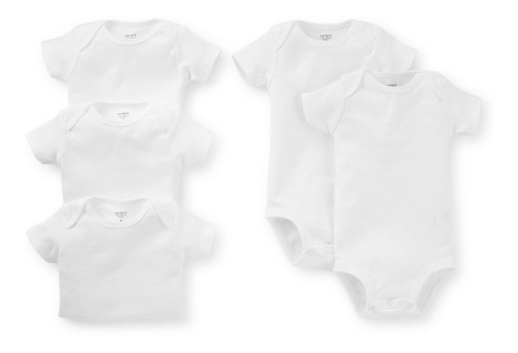 Set Carters Bodys Blancos