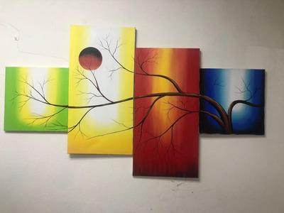 Pintura Obra De Arte A La Medida Que Guste, Excelente Precio