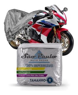Capa Cobrir Moto Honda Cbx 750 Impermeável Proteção Anti Uv