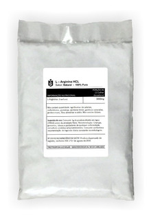 Kit: Arginina 500g + Taurina 500g + Vitamina C 500g