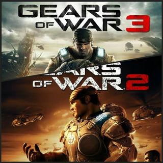 Gears Of War 2 + Gears Of War 3 Código Xbox One/360