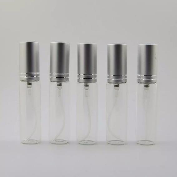 Lote De 10 Perfumeros Recargables Vidrio De 10ml