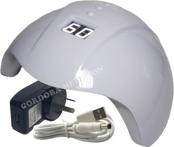 Cabina Secado Uñas Display Digital Led Uv Sensor 36w