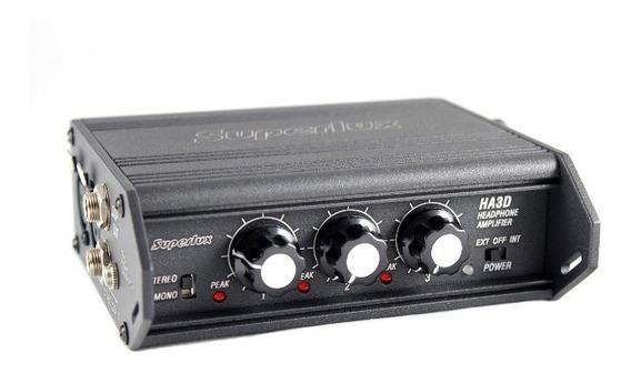 Ha-3d Amplificador Portátil De Fone De Ouvido Ha3d Superlux