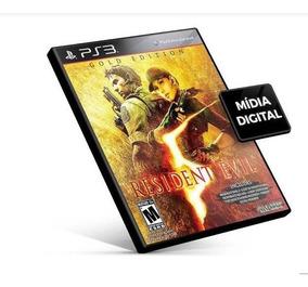 Resident Evil 5 Ps3 Psn Jogo Midia Digital Envio Na Hora