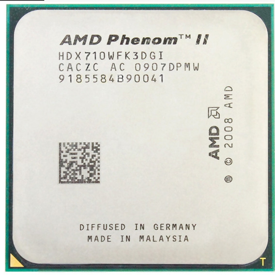 Processador X3 710 Amd Phenom Ii Triple-core Am3 Am2 2,60mhz