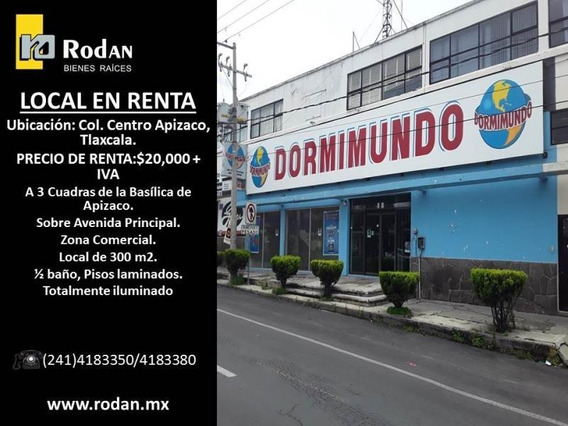 Local Comercial En Renta Apizaco Centro