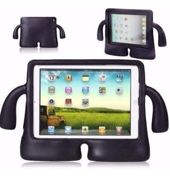 Capa Case iPad 2 3 4 Infantil Tab Preta
