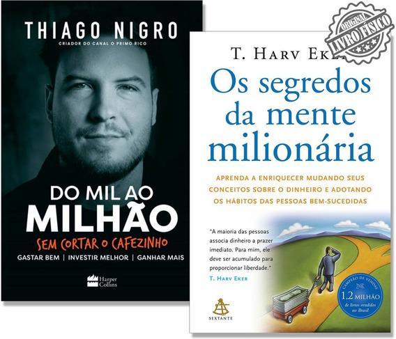 Kit Os Segredos Da Mente Milionária + Livro Do Mil Ao Milhão