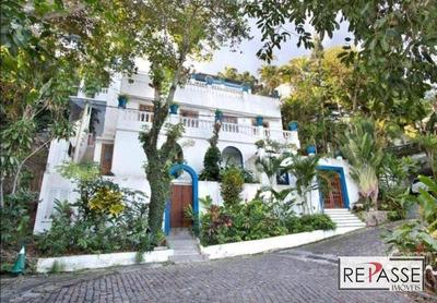 Casa Com 4 Dormitórios Para Alugar, 400 M² Por R$ 25.000/mês - São Conrado - Rio De Janeiro/rj - Ca0135
