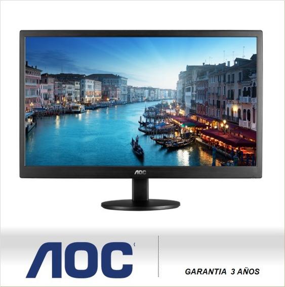 Aoc Monitor Led 20 Vga E2070sw 1600x900 (sumcomcr)