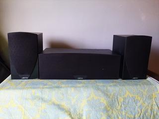 2 Parlantes Jamo C601 + Parlante Central C 60 Cen