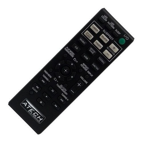 Controle Remoto Compatível Aparelho De Som Sony
