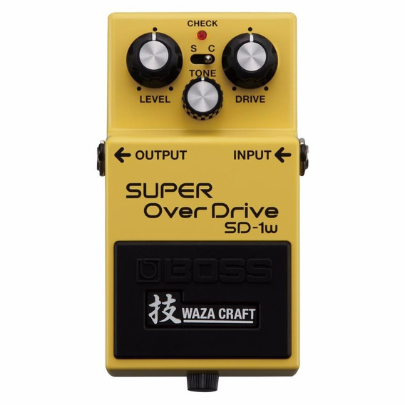 Pedal Boss Sd1w Waza Craft Overdrive Loja Oficial