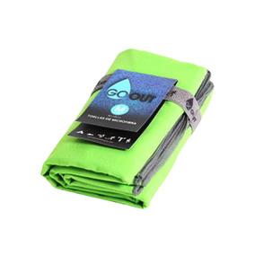 Toalla Microfibra Entrenamiento 80x130 Verde-1514