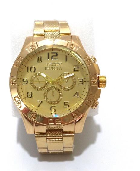 Relogio Masculino Luxo - Relógios De Pulso Dourados