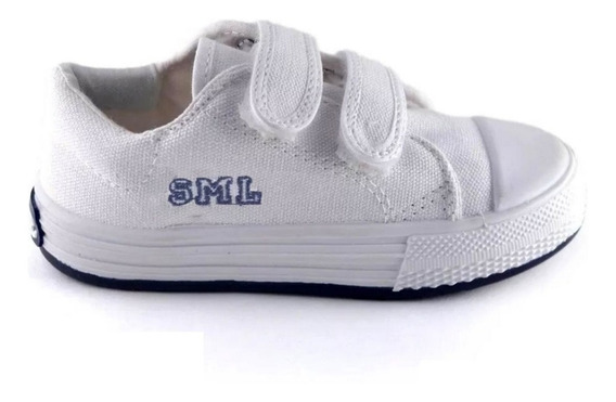 Zapatillas Small Top Con Abrojo De Niños