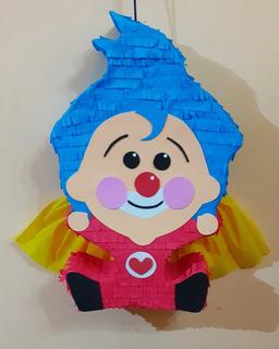 Piñata Cumpleaños Pin Plin, Oso, Frozen, Toy Story Y Más