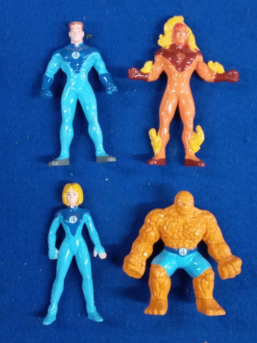 4 Fantasticos * Superheroes * Coleccion Jack Grande * Marvel