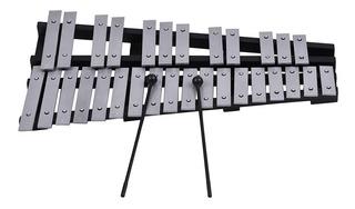 Instrumento Musical Marimba Glockenspiel 30 Notas