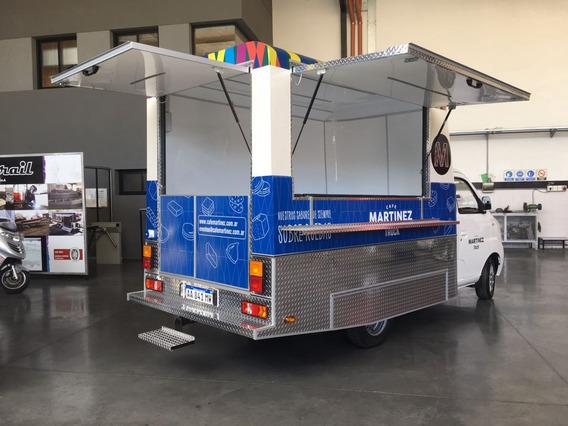 Food Truck Módulo Trasero Habilitable En Caba Homologado