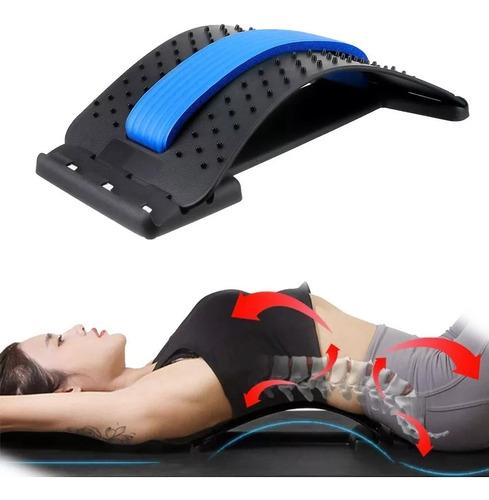 Imagem 1 de 6 de Apoio Encosto Lombar Massageador Para Alívio Postura Coluna