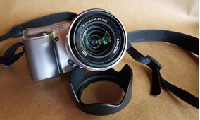 Câmera Sony Nex F3 Semi Profissional - Visor 180 - Impecável