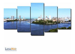 Quadro Decorativo Cidade Do Recife Pernambuco Sala Mdf