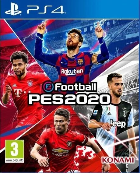 Pes 20 Efootball Ps4 Digital1 Original - Jogo Vitalicio