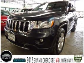 2012 Grand Cherokee Limted Navi V8, Servicios En Jeep.....