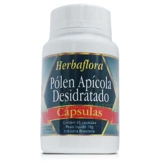 Polen Apicola Desidratado - 45 Caps. 400mg Herbaflora