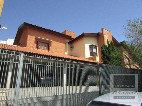Sobrado Com 4 Dormitórios À Venda, 780 M² Por R$ 3.100.000,00 - Parque Campolim - Sorocaba/sp - So0070