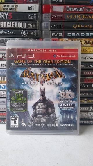 Batman Arkham Asylum + Arkhan City Mídia Física Playstation3