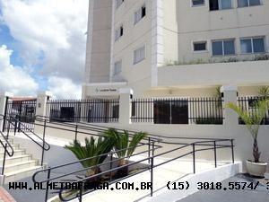 Apartamento Para Venda Em Sorocaba, Jardim Europa, 3 Dormitórios, 1 Suíte, 2 Banheiros, 2 Vagas - 304
