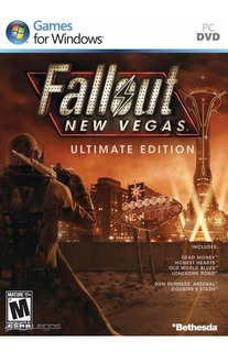Fallout New Vegas + Todas Las Expansiones Pc Steam Original
