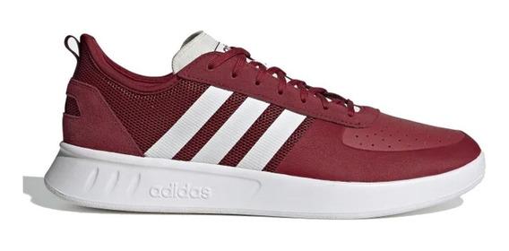 Zapatillas adidas Court80s Rojo/blanco - Moda Hombre