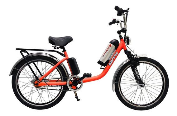 Bicicleta Elétrica Sonny Aro 24 Bateria De Lítio - Bikelete