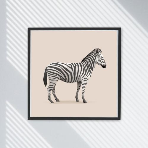 Foto Zebra  Decoracion Cuarto Niño Hay + Animales Hoy2x1
