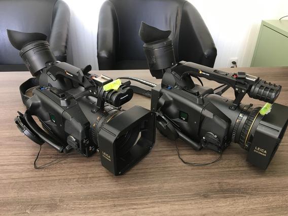 Lote 02 Filmadoras Panasonic Ag-dvx 100b Mini Dv