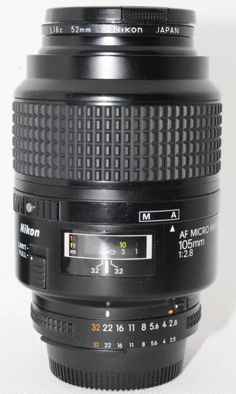 Lente Nikon 105mm 2.8 Macro 1:1 Fullframe