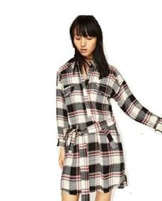 ae7a37806 Vestido Camisero Zara - Vestidos Informales de Mujer en Mercado ...